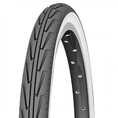 Pneu MICHELIN CITY J 20x1.75 Noir/Blanc