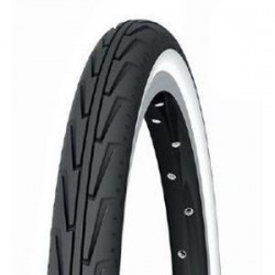 Pneu MICHELIN CITY J 600A Noir/Blanc