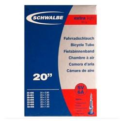 Chambre à air SCHWALBE XX LIGHT SV 14A Presta 40mm