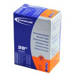 Chambre à air SCHWALBE DV17 700x28/38 Dunlop 40mm