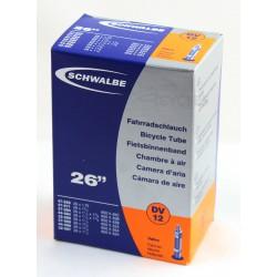 Chambre à air SCHWALBE DV12 26x1.25/1.75 650x32/45 Dunlop 40mm
