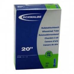 Chambre à air SCHWALBE AV7B 20x0.90/1 Schrader 40mm
