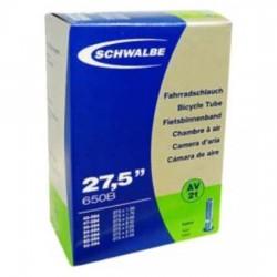Chambre à air SCHWALBE AV21 27.5x1.50-2.40 Schrader 40mm