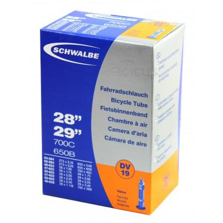 Chambre à air SCHWALBE DV19 27.5/29x1.50/2.50 Dunlop 32mm