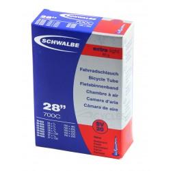 Chambre à air SCHWALBE EXTRA LIGHT SV20 700x18/25c Presta 40mm