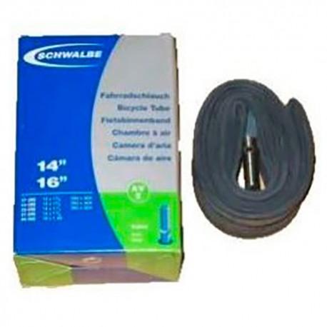 Chambre à air SCHWALBE AV2 14x1.3/8 16x1.50 Schrader 40mm