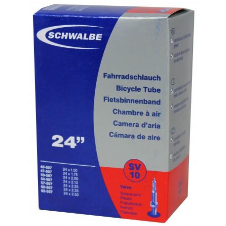 Chambre à air SCHWALBE SV10 24x1.50/2.25 Presta 40mm