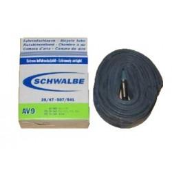 Chambre à air SCHWALBE AV9 24x1.1/8 - 1.75 Schrader 40mm