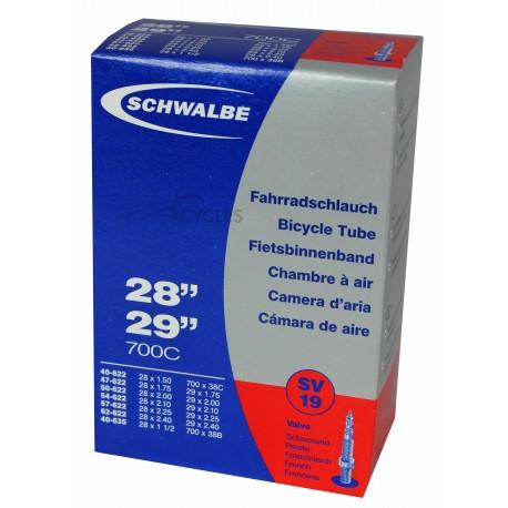 Chambre à air SCHWALBE SV19 28x1.50/2.35 Presta 40mm