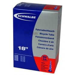 Chambre à air SCHWALBE SV5A 18x1.75/2.35 Presta 40mm
