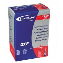 Chambre à air SCHWALBE XX LIGHT SV14A 26x1.50/2.10 Presta 40mm