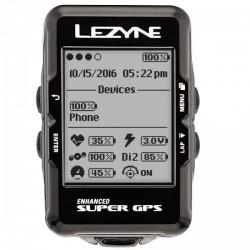Compteur GPS Lezyne Super GPS