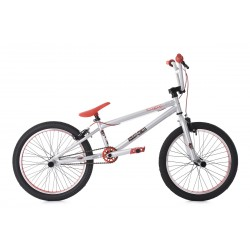 BMX Freestyle KS CYCLING 20'' Argent Rouge
