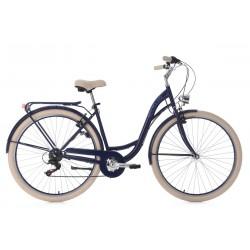 Vélo de Ville KS CYCLING 28'' Balloon bleu