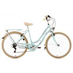 Vélo de Ville KS CYCLING 28'' Casino bleu 6V
