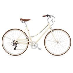 Vélo de Ville ELECTRA LOFT 7D Beige Marron 2018