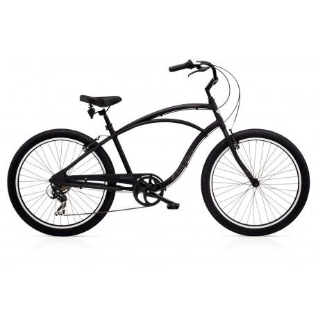 Vélo de Ville ELECTRA Cruiser Lux 7D Noir 2018