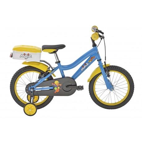 Vélo Enfant GITANE Miniz 16'' Bleu Jaune