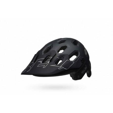 Casque BELL Super 3 Noir/Blanc