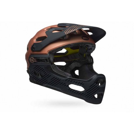 Casque BELL Super 3R Mips Noir/Copper