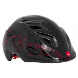 Casque MET Elfo Noir/Rouge