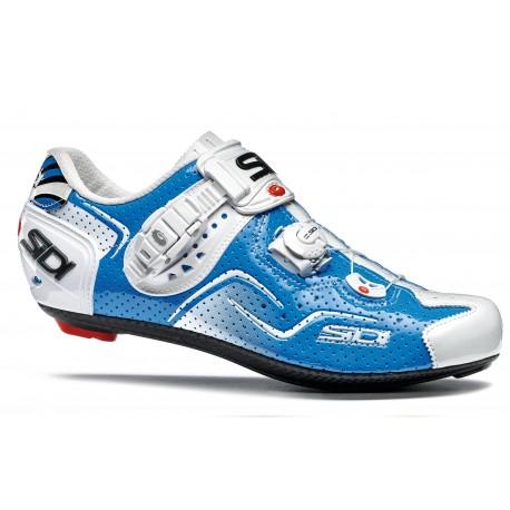 Chaussures SIDI Kaos Air Blanc/Bleu