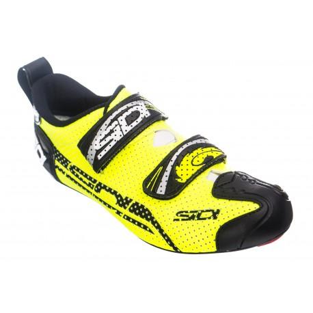 Chaussures SIDI T4 AIR Jaune Fluo Noir