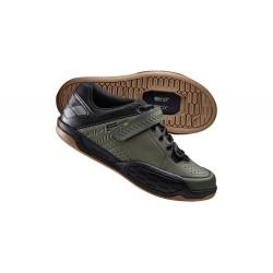 Chaussures SHIMANO AM5 Vert Kaki