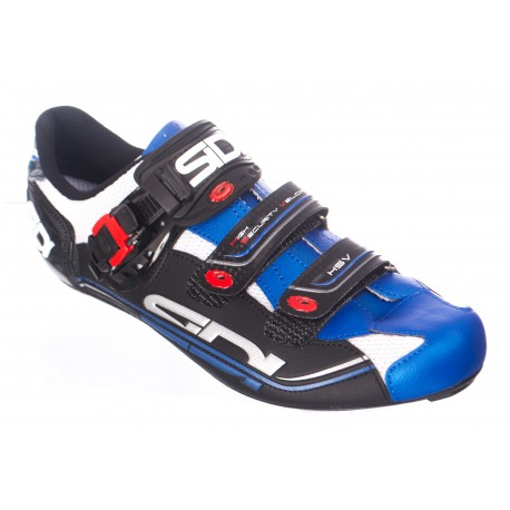 Chaussures SIDI Genius 7 Blanc/Bleu