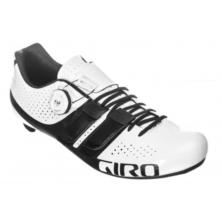 Chaussures GIRO Factor Techlace Blanc/Noir