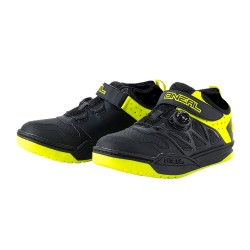 Chaussures ONEAL Session Noir/Jaune Fluo