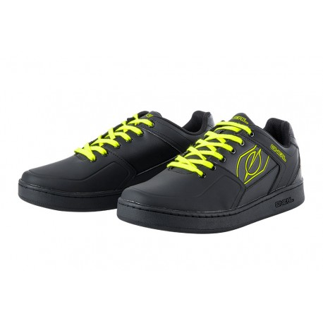 Chaussures ONEAL Pinned Noir/Jaune Fluo