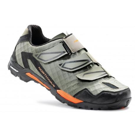 Chaussures NORTHWAVE Outcross Kaki/Orange