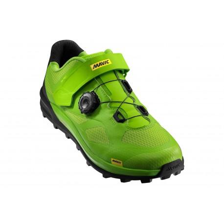 Chaussures MAVIC XA Pro Vert/Noir