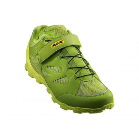 Chaussures MAVIC XA Elite Vert/Jaune Fluo
