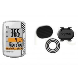 Compteur GPS Bryton Rider 10 C + Capteur Cadence