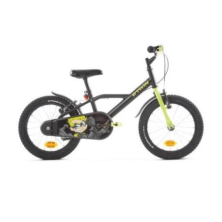 Vélo Enfant B'TWIN 500 Dark Hero 4-6 ans