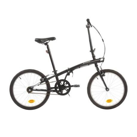 Vélo Pliant B'TWIN TILT 100 Noir