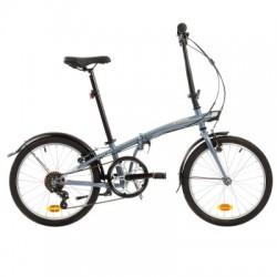 Vélo Pliant B'TWIN TILT 120 Gris