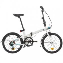 Vélo Pliant B'TWIN TILT 500 Blanc