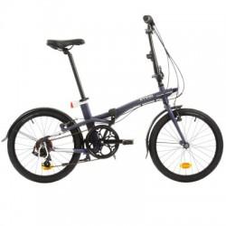 Vélo Pliant B'TWIN TILT 500 Bleu
