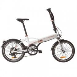 Vélo Pliant B'TWIN TILT 500 E Blanc