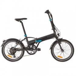 Vélo Pliant B'TWIN TILT 500 E Noir