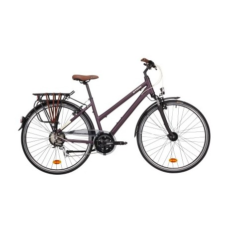 Vélo de Ville B'TWIN HOPRIDER 500 cadre bas