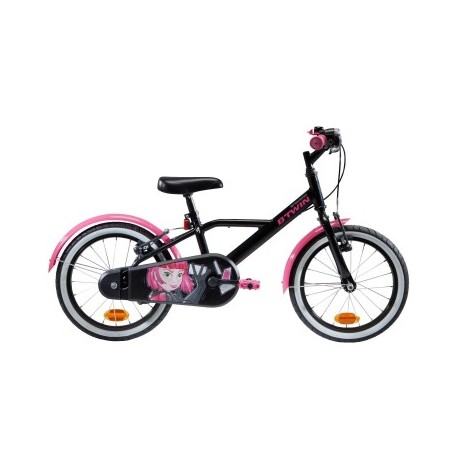 Vélo Enfant B'TWIN 500 Spy Hero Girl 4-6 ans