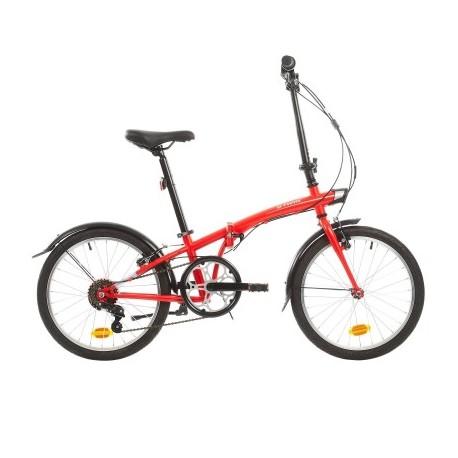 Vélo Pliant B'TWIN TILT 120 Rouge