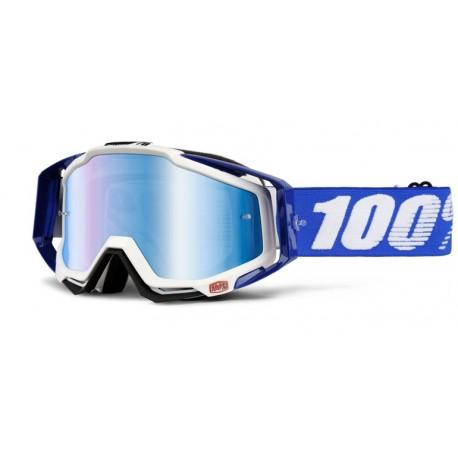 Masque 100% Racecraft Cobalt Bleu/Blanc