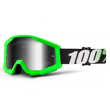 Masque 100% Strata Arkon Vert Fluo
