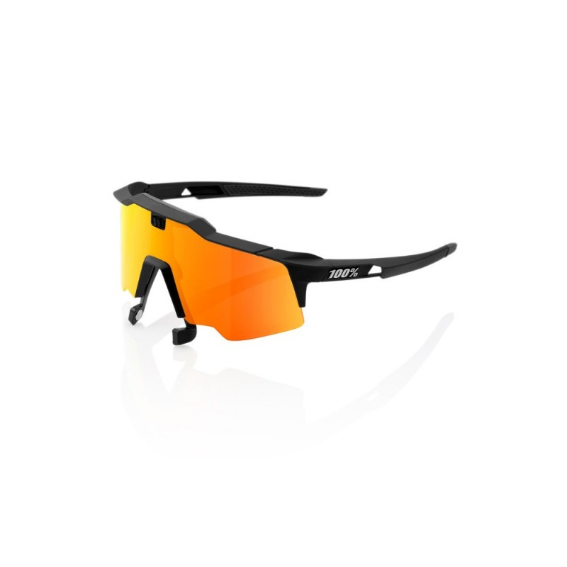 0ab593eb0d1f14 Lunettes 100% Speedcraft AIR Soft Tact Black
