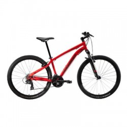 VTT B'TWIN ROCKRIDER ST 100 U-FIT Rouge 27.5''
